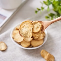 方美菇粮 杏鲍菇脆片85g罐装休闲分享零食 酥脆香醇浓郁营养