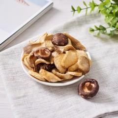 方美菇粮 综合菌菇脆片85g罐装休闲分享零食 酥脆香醇浓郁营养